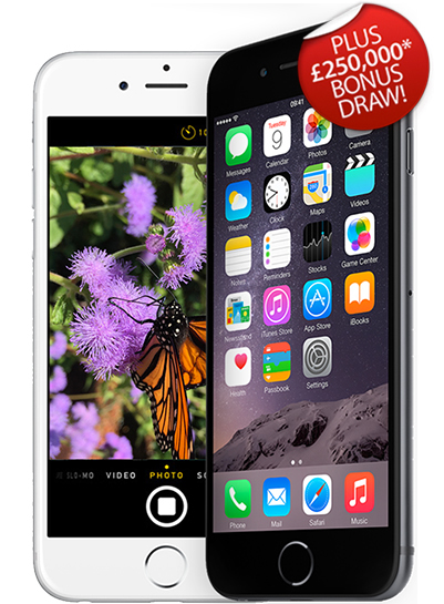 Your chance to win an iPhone 6!